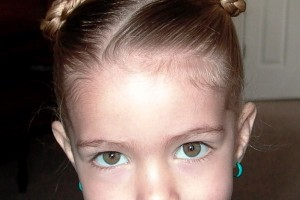 Hair Style , 5 Little Girls Twist Hairstyles : Side Pony with Twists