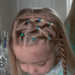 Side Puffy Braid with Twist Braid , 5 Little Girls Twist Hairstyles In Hair Style Category
