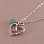 Silver Heart Necklace for Girlfriend , 7 Necklace For Girlfriend In Jewelry Category