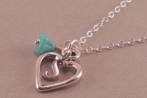 Jewelry , 7 Necklace For Girlfriend : Silver Heart Necklace for Girlfriend