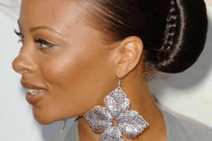 Hair Style , 6 Updo Hairstyles For Black Girls : Sleek Bun Hairstyle for Black Women