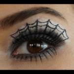 Spider Web Eye Make-up Tutorial , 5 Spider Web Eye Makeup In Make Up Category