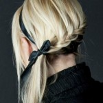 Spiral French braid with a ribbo , 6 French Braid Hair Band In Hair Style Category