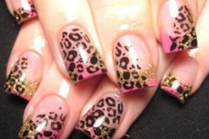 Nail , 5 Romantic Nail Art Design : Spring Ultra Glam Romantic Nail Art