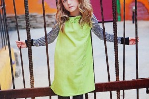 Fashion , 8 Vintage Style Dresses For Kids : Style Retro Jumper children clothing