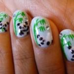 Stylish Panda Nails Art Designs , 5 Panda Nail Art Designs In Nail Category