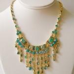Swarovski Crystal Bib Necklace , 7 Crystal Bib Necklace Etsy In Jewelry Category