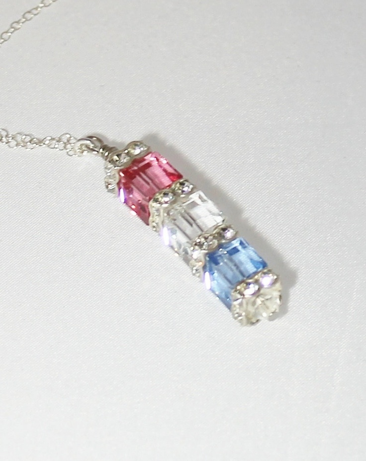7 Swarovski Crystal Necklace Etsy in Jewelry