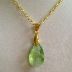 Swarovski Crystal Necklace  , 7 Crystal Necklace Etsy In Jewelry Category