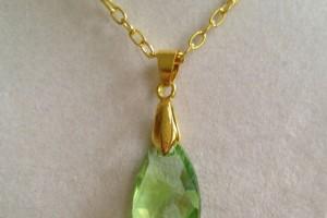 Jewelry , 7 Crystal Necklace Etsy : Swarovski Crystal Necklace