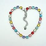 Swarovski Crystal Necklace Sabika on Etsy , 7 Swarovski Crystal Necklace Etsy In Jewelry Category