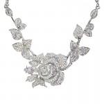 Swarovski Crystal Rose Bridal Necklace - Bridal Jewellery - Crystal ... , 6 Crystal Necklace In Jewelry Category