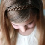 Sweet Simple Hair Style For Little Girls , 7 Hair Braiding Styles For Little Girls In Hair Style Category