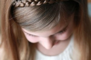 Hair Style , 7 Hair Braiding Styles For Little Girls : Sweet Simple Hair Style For Little Girls