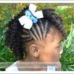Little Girls Natural Hairstyles: Twist Out\'s + Puff with Twisted Bang , 6 Little Girls Twist Hairstyles In Hair Style Category