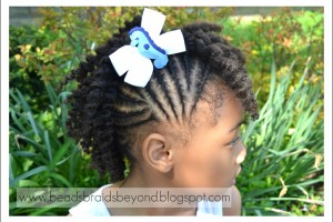 Hair Style , 6 Little Girls Twist Hairstyles : Little Girls Natural Hairstyles: Twist Out\'s + Puff with Twisted Bang