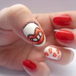 The Red Lippy Project Nails , 7 Lips Nail Art Design In Nail Category