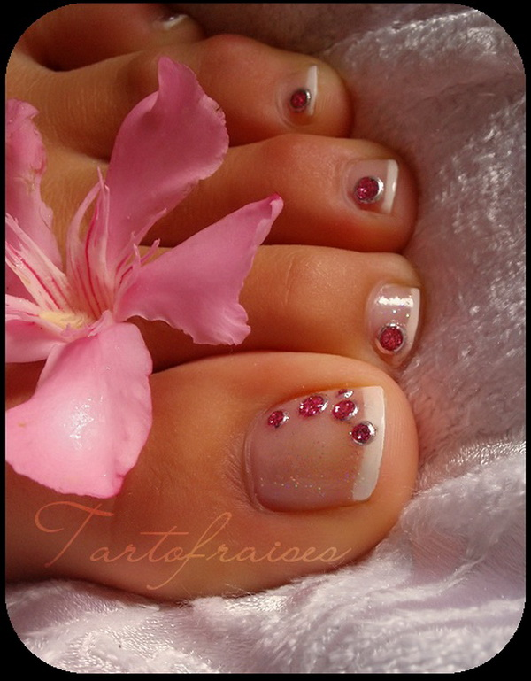 6 Nail Art Designs For Toes in Nail
