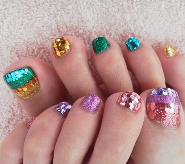 Elegant Toe Nail Art Designs Entertainment Buzzz 6 Nail