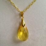 Topaz Swarovski Crystal Necklace on Etsy , 7 Swarovski Crystal Necklace Etsy In Jewelry Category