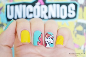 Nail , 6 Unicorn Nail Art Design : Unicorn Nail art design