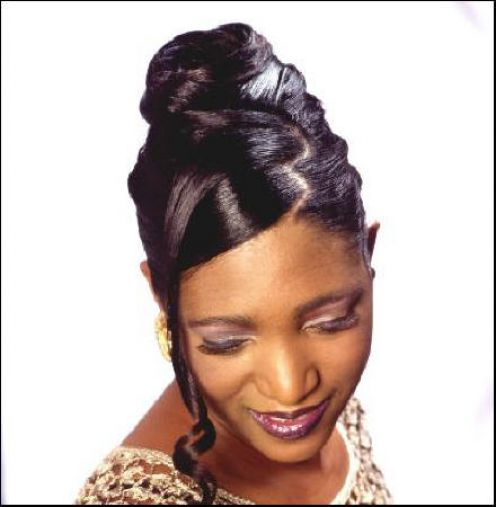 Pleasant Updo Hairstyles For Black Women 6 Updo Hairstyles For Black Hairstyles For Women Draintrainus