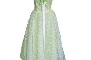 Fashion , 7 Green Vintage Prom Dress Designs : Vintage 1940s Mint Green Lace Prom Dress