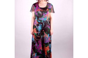 Fashion , 8 Vintage Maxi Dress : Vintage Floral Maxi Dress