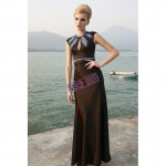 Vintage Inspired Long Slim Formal Beaded Evening Gown , 8 Vintage Long Gowns In Fashion Category