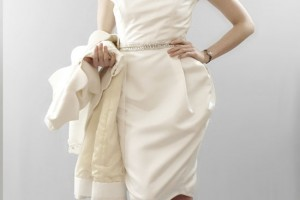 Wedding , 8 Vintage Short Wedding Dress : Vintage Inspired Short Wedding Dresses