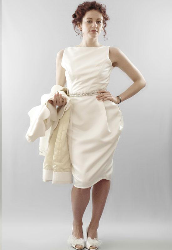 Vintage inspired short wedding dresses 8 vintage short for Sell vintage wedding dress