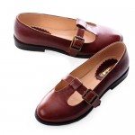 Vintage Nautical Style Flat Mary Jane  , 6 Vintage Style Dress Shoes In Shoes Category
