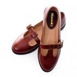 Vintage Nautical Style Flat Mary Jane Dress Shoes , 8 Vintage Style Dress Shoes In Shoes Category