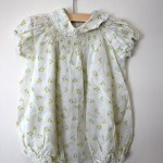 Vintage Sweet Tulip floral Ivory dress , 8 Vintage Style Dresses For Kids In Fashion Category