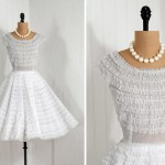 Vintage Wedding Dresses , 8 Vintage Short Wedding Dress In Wedding Category