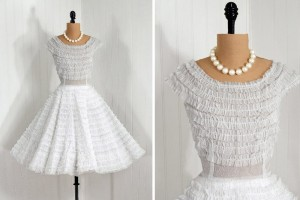 Wedding , 8 Vintage Short Wedding Dress : Vintage Wedding Dresses