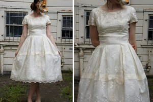 Wedding , 7 Vintage Short Wedding Dress : Vintage Wedding Dresses