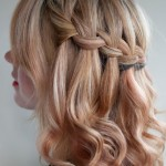 Waterfall Braid Hairstyles , 9 Cool Hair Ideas For Medium Hair In Hair Style Category