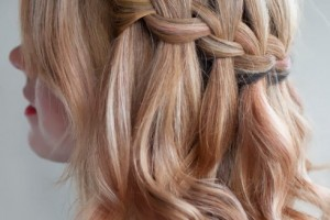 Hair Style , 9 Cool Hair Ideas For Medium Hair : Waterfall Braid Hairstyles