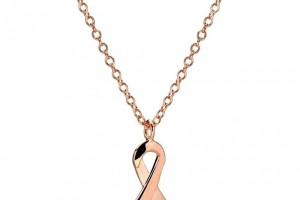 Jewelry , 8 Gold Necklaces For Women : Women's rose gold necklace