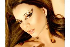 Make Up , 7 Rhinestone Eye Makeup : Xotic Rhinestone Eye Makeup
