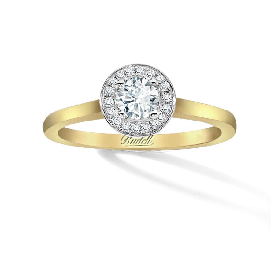 12 Gold Diamond Ring in Jewelry