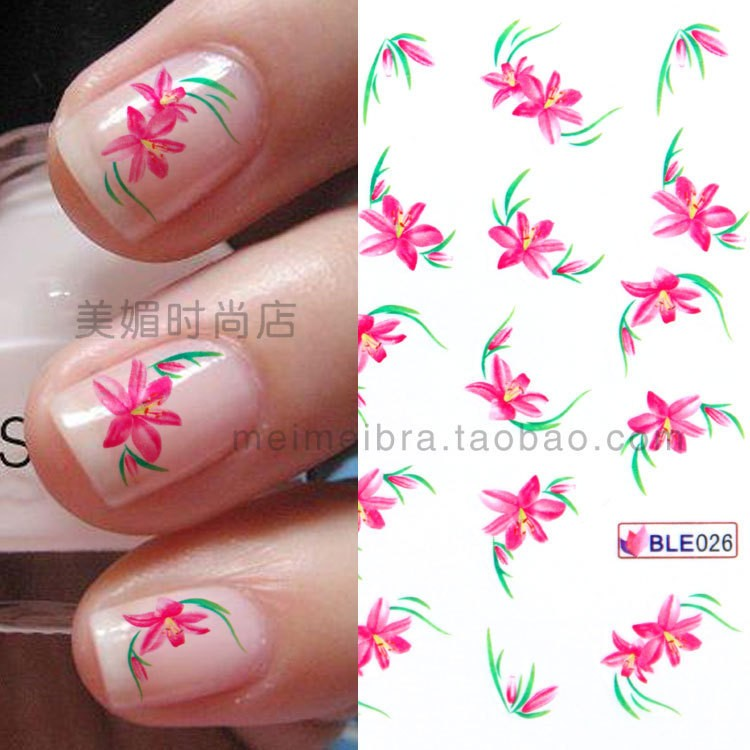 Nail , 6 Pre Designed Nail Tips : ... Colorful Glitter False Nail Tips Fake Pre Design Acrylic On Pinterest