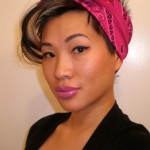 a cute bandana hairstyle , 8 Cute Bandana Hairstyles In Hair Style Category