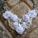 ... Swarovski Crystal Bib Necklace. $40.00, ...   My Etsy Glamour , 6 Crystal Bib Necklace Etsy In Jewelry Category