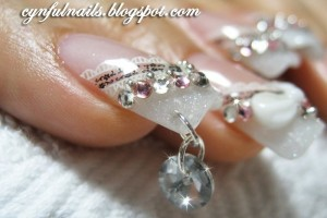 Nail , 6 Artificial Nail Designs : acrylic nails, nails art