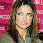 adriana lima, eyes, fashion, girl, lips - image #176845 on Favim.com , 7 Adriana Lima Eye Makeup In Make Up Category
