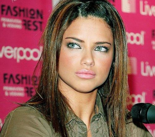 Make Up , 7 Adriana Lima Eye Makeup : Adriana Lima, Eyes, Fashion, Girl, Lips   Image #176845 On Favim.com