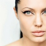 Angelina Jolie Eye Makeup - HD Wallpapers Widescreen - 1440x900 , 6 Eye Makeup For Angelina Jolie In Make Up Category