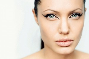 Make Up , 6 Eye Makeup For Angelina Jolie : Angelina Jolie Eye Makeup - HD Wallpapers Widescreen - 1440x900